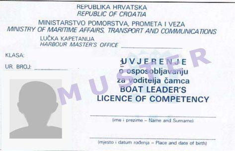 Boat Leaders License